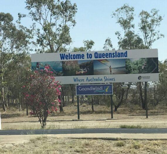 Day 16: Jan 4th  Moree to Toowoomba.